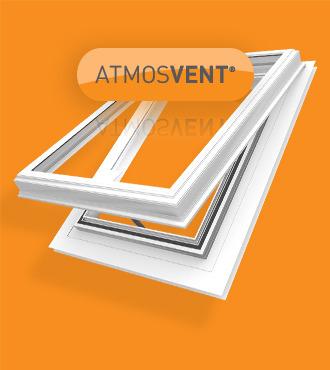 Plastic Glaze Atmosvent 174 Roof Vents